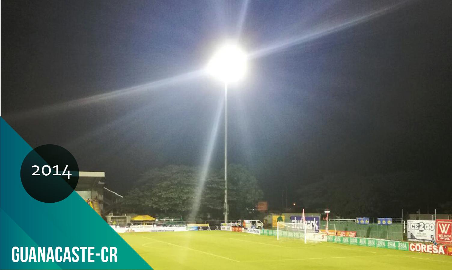 luminarias para canchas de futbol