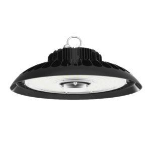 Lampara LED tipo campana para iluminacion industrial, iluminacion bajo techo y espacio multisuos