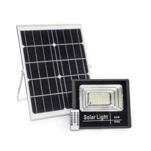 Luminaria o lampara para iluminacino Led solar residencial, areas verdes y el hogar